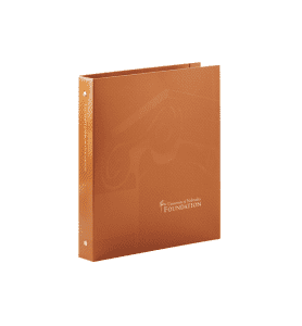 Binder for University of Nebraska Foundation