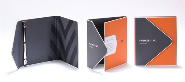 Elegant Flush Cut Portfolio Binder