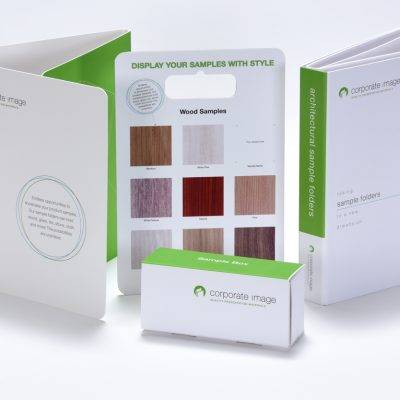 Sample presentation kit