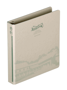 Bare board binder for Fish and Wildlife