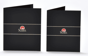 Pocket folder for Schell Brothers